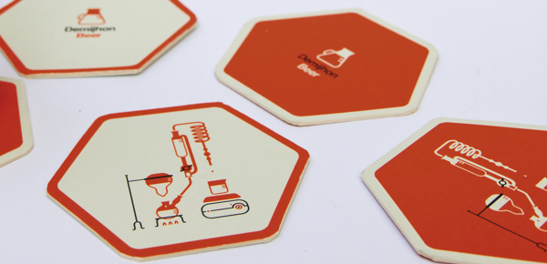 Demijhon Beer coasters