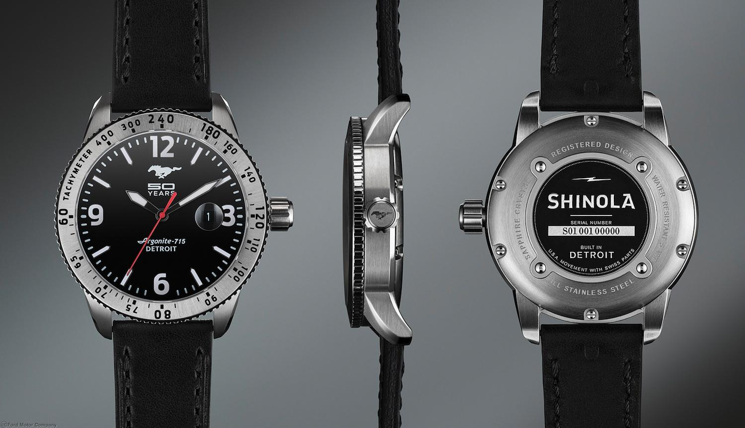 Mustang 50th Anniversary Shinola Watch The Coolector