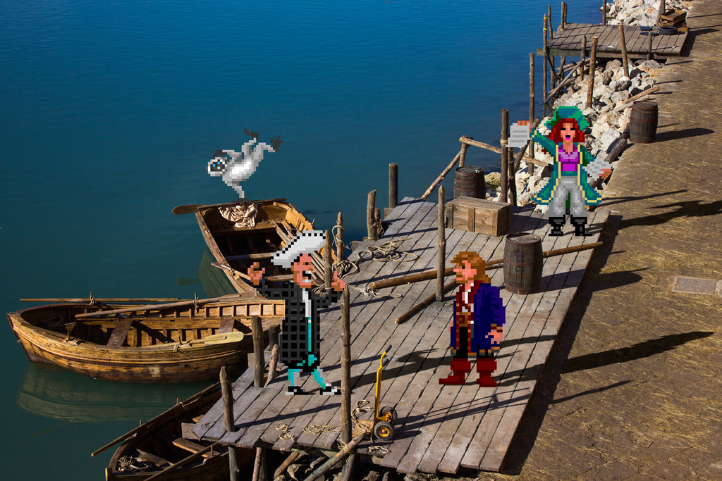 Real Bits Monkey Island The Coolector