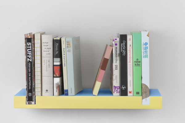 minimal shelves