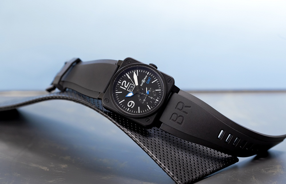Limited Edition Bell Amp Ross Br 03 51 Gmt Twg Watch The