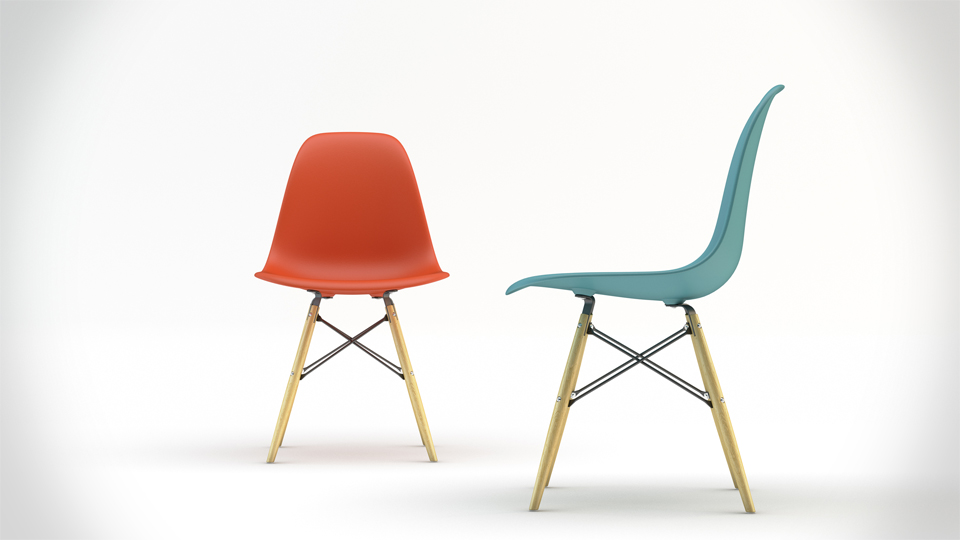 Charles eames dsw chair the coolector for Design icon chairs
