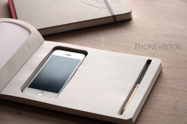 phone + book