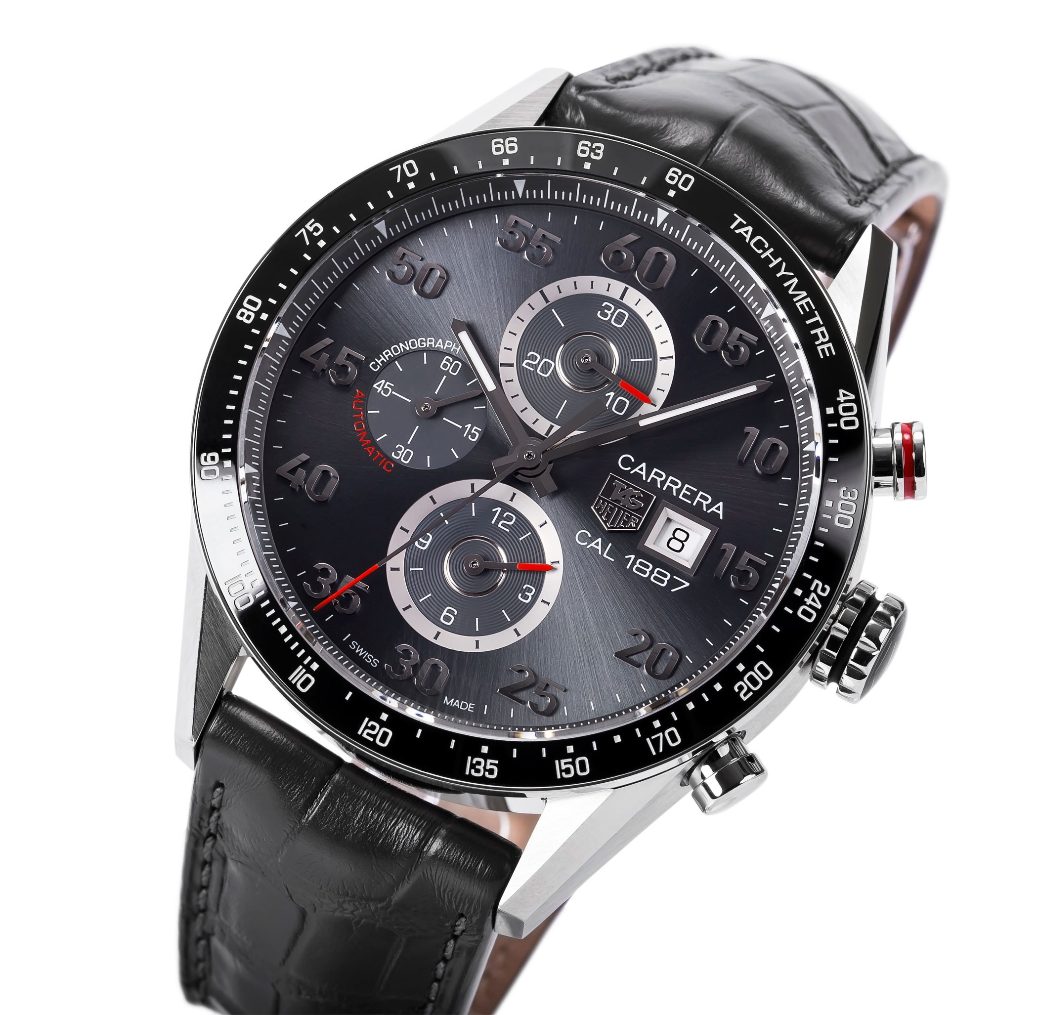 Tag Heuer Carrera 1887 Automatic Chronograph The Coolector Space Leather