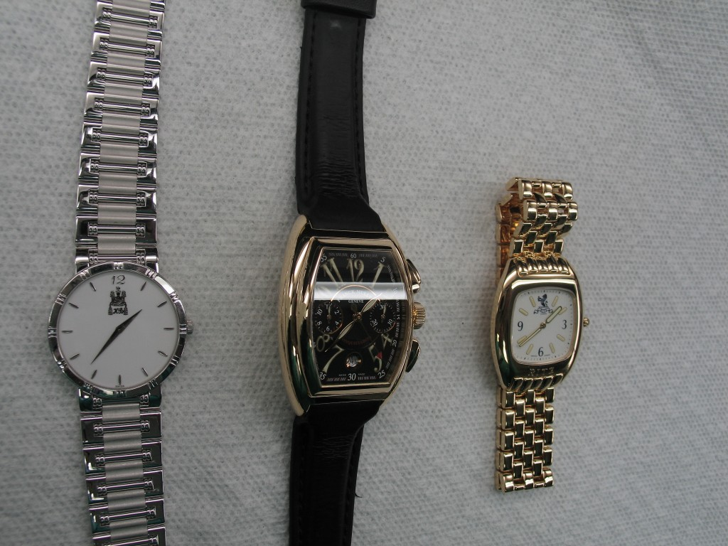 Clintons watch collection