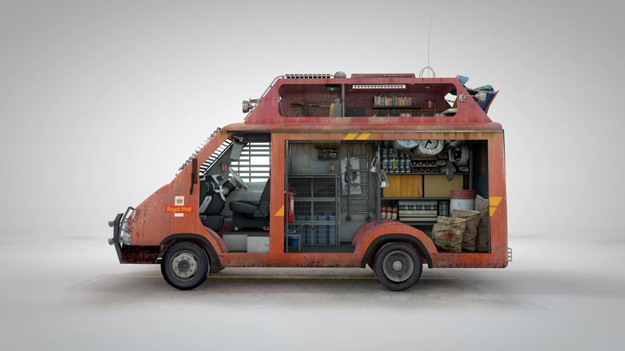 FS-Zombie-Survival-Van