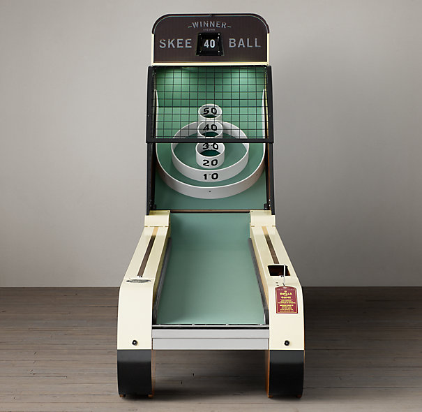 Vintage Arcade Skeeball The Coolector