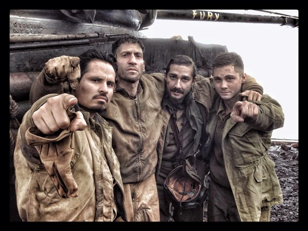 Fury Movie Set Picture (1)