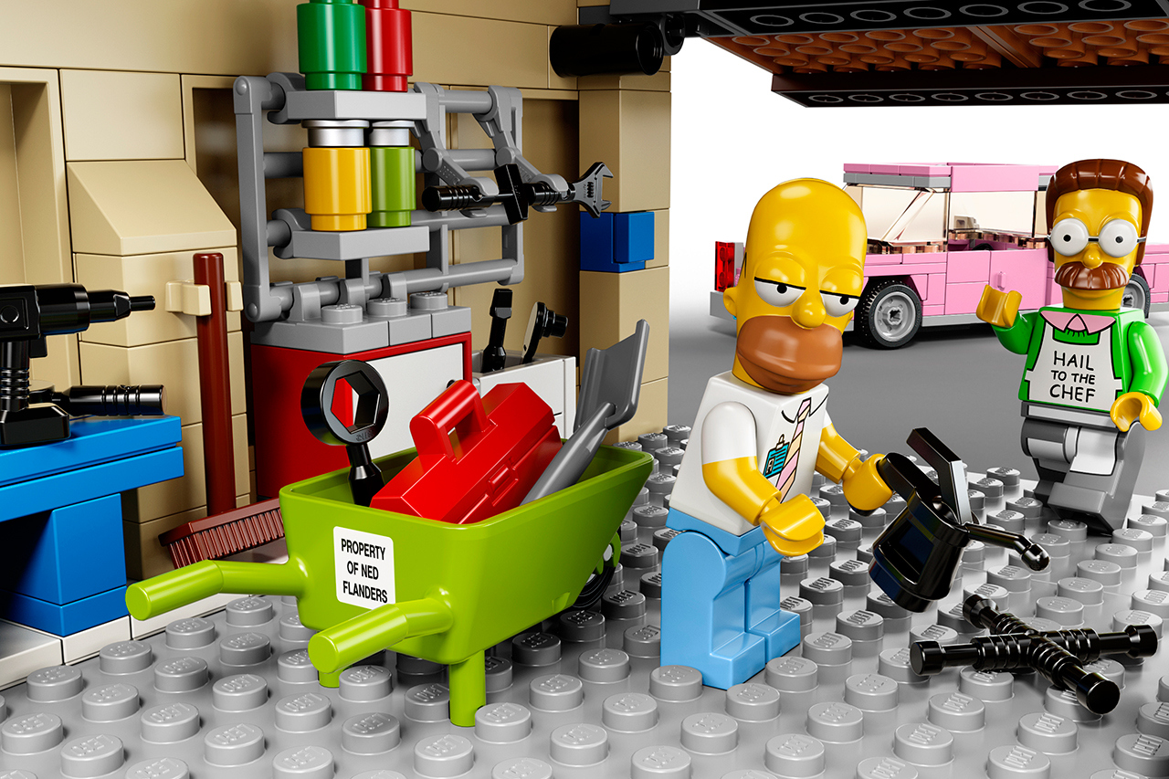 Simpsons Lego The Coolector