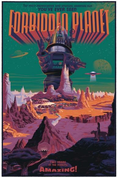 Forbidden Planet by Laurent Durieux (Regular)