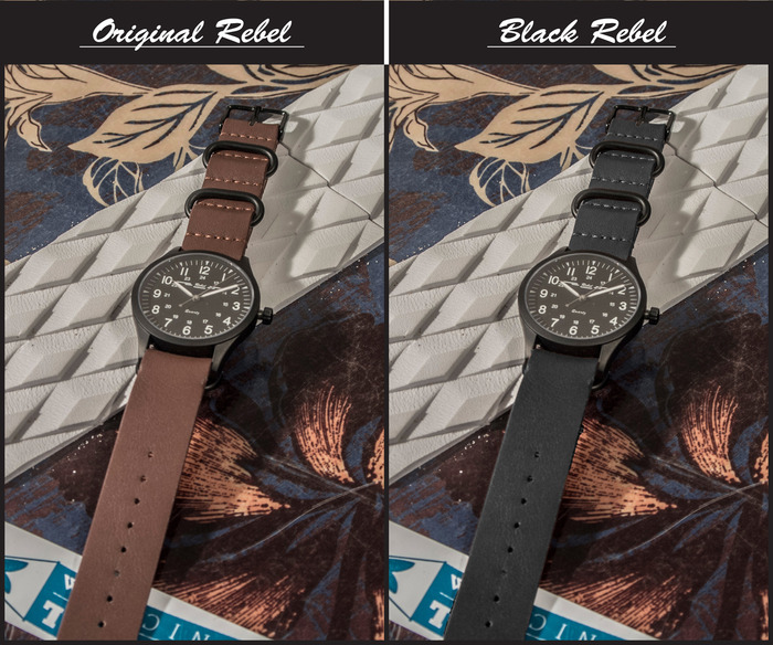 black rebel watch