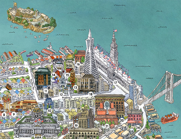 This Is A San Francisco Map – San Francisco Travel Map