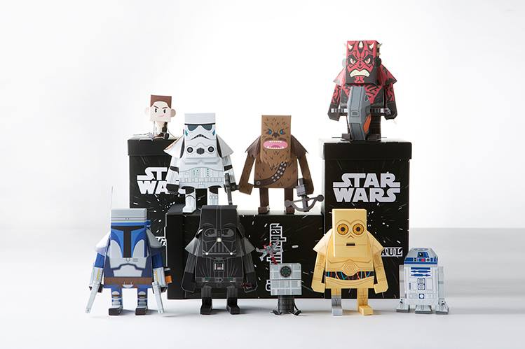 Momot Star Wars Paper Toys The Coolector