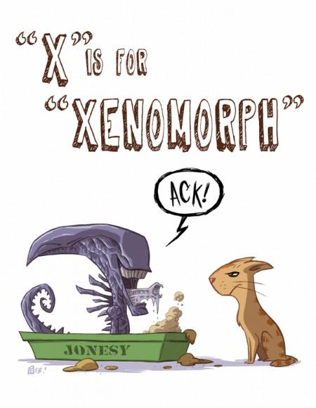 x_is_for_xenomorph_by_otisframpton-d6yeh0k