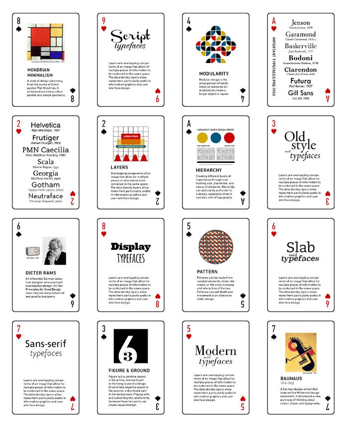 design deck cards