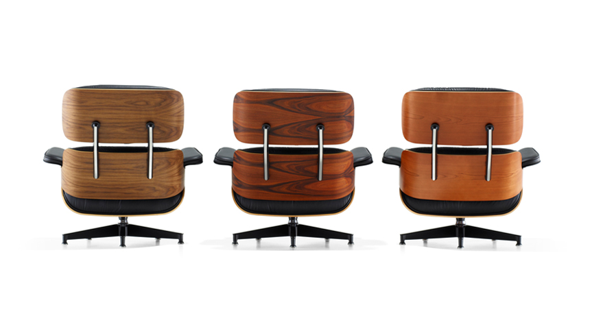 charles eames lounge chair the coolector. Black Bedroom Furniture Sets. Home Design Ideas