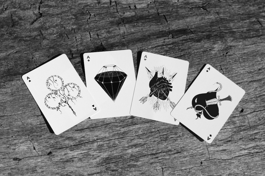 Flesh Amp Bone Playing Cards The Coolector