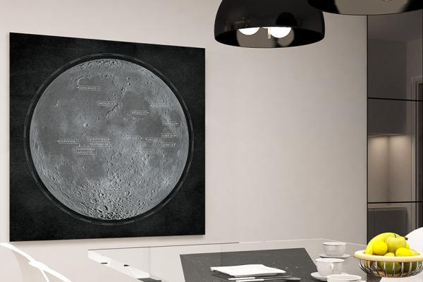 lunar print