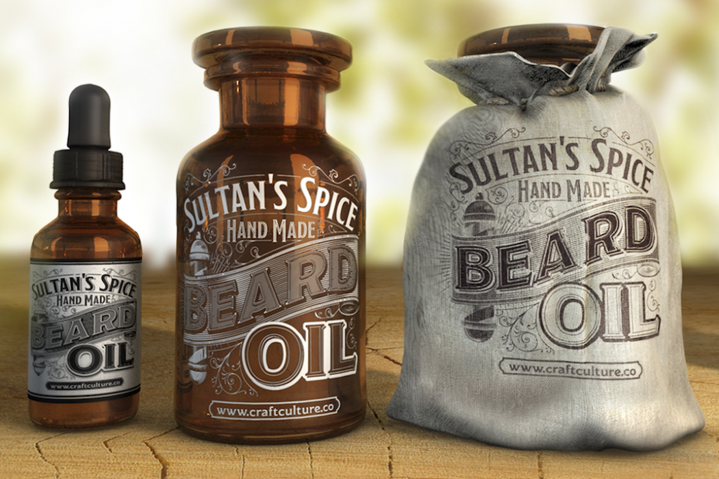 Sultan's Spice Hand Made Beard Oil