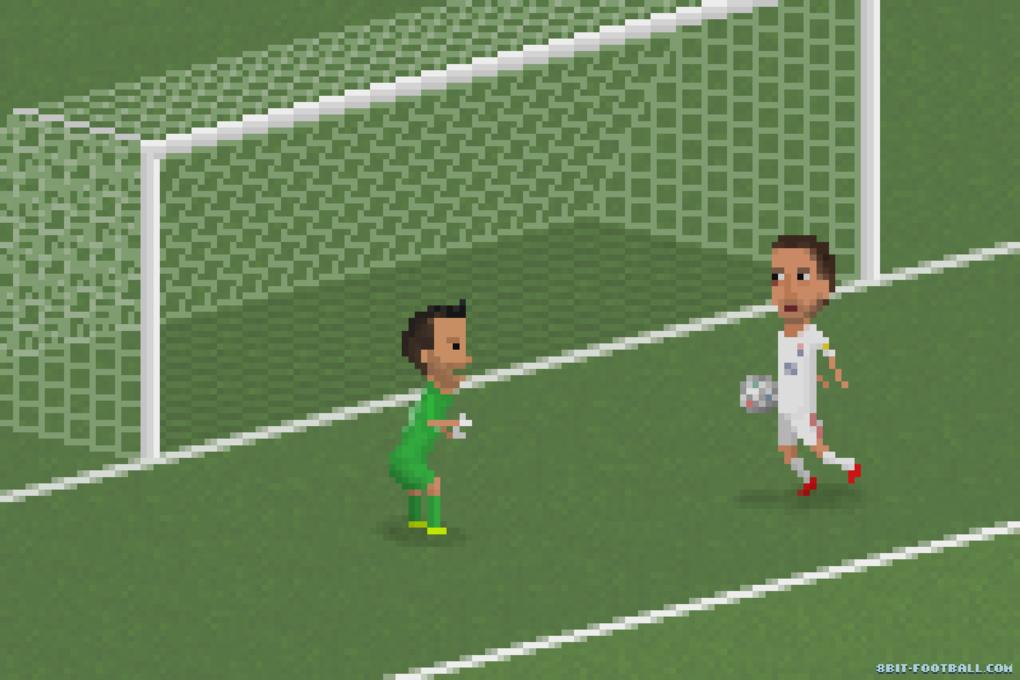 Clint Dempsey belly-flops a goal.