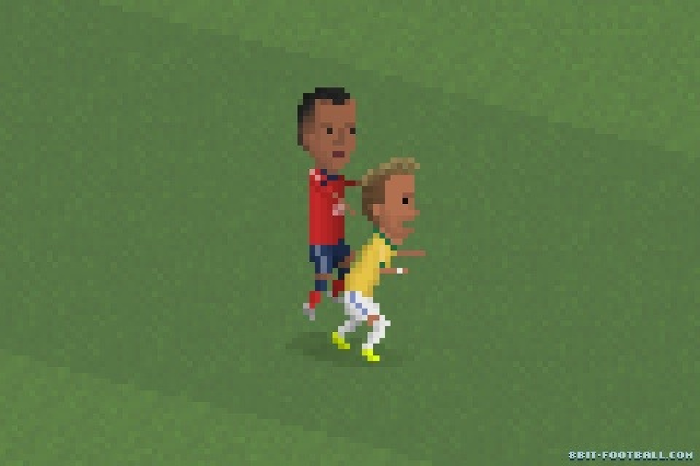Neymar breaks a vertabrae