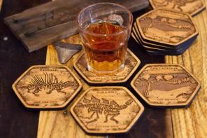 FringeFocus Dinosaur Fossil Coasters
