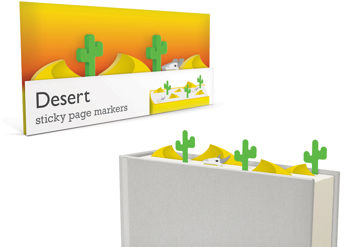 010_Sticky_Page_Markers_DESERT_paper_bookmarks