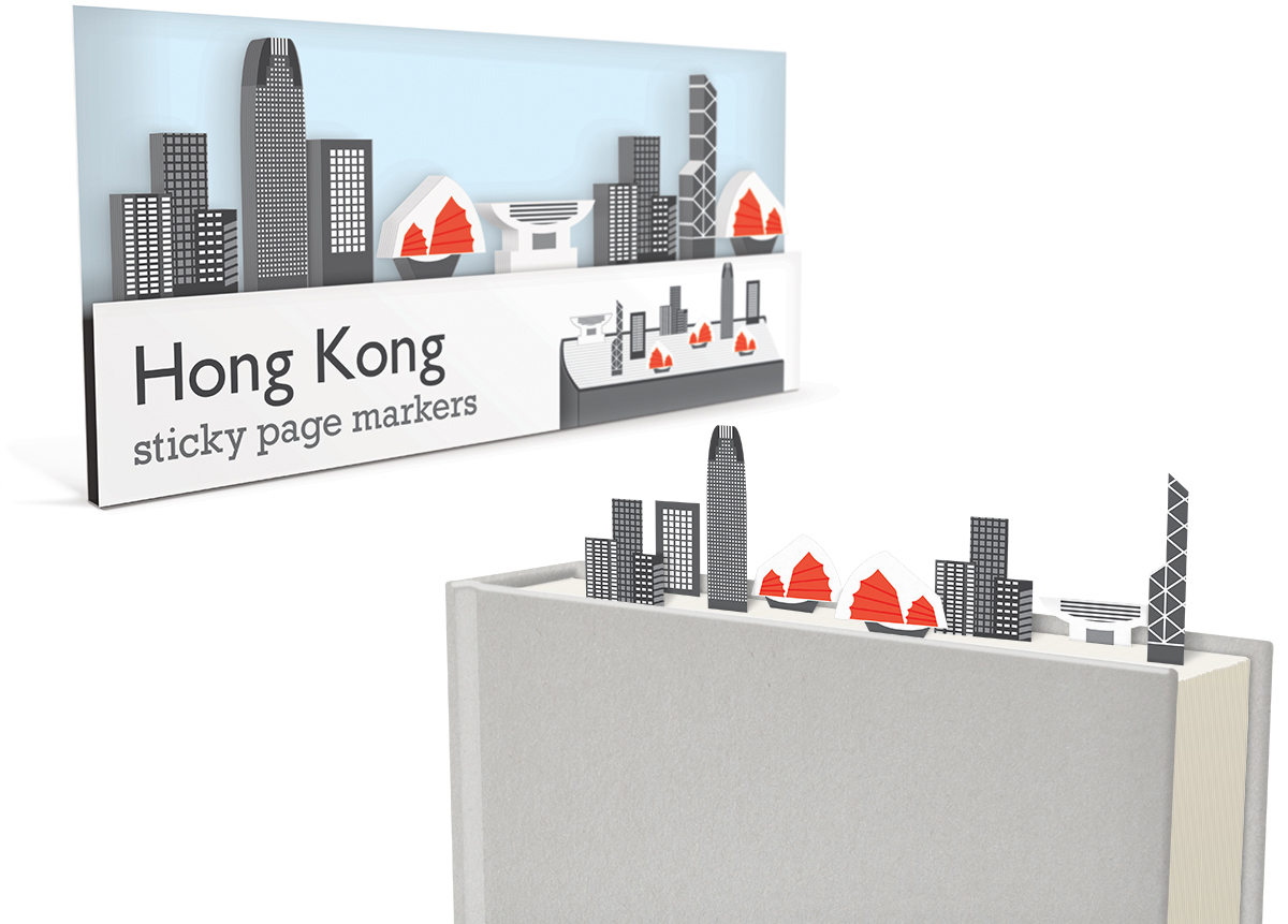 011_Sticky_Page_Markers_HONG-KONG_paper_bookmarks