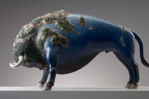 Wang Ruilin Animal Sculptures