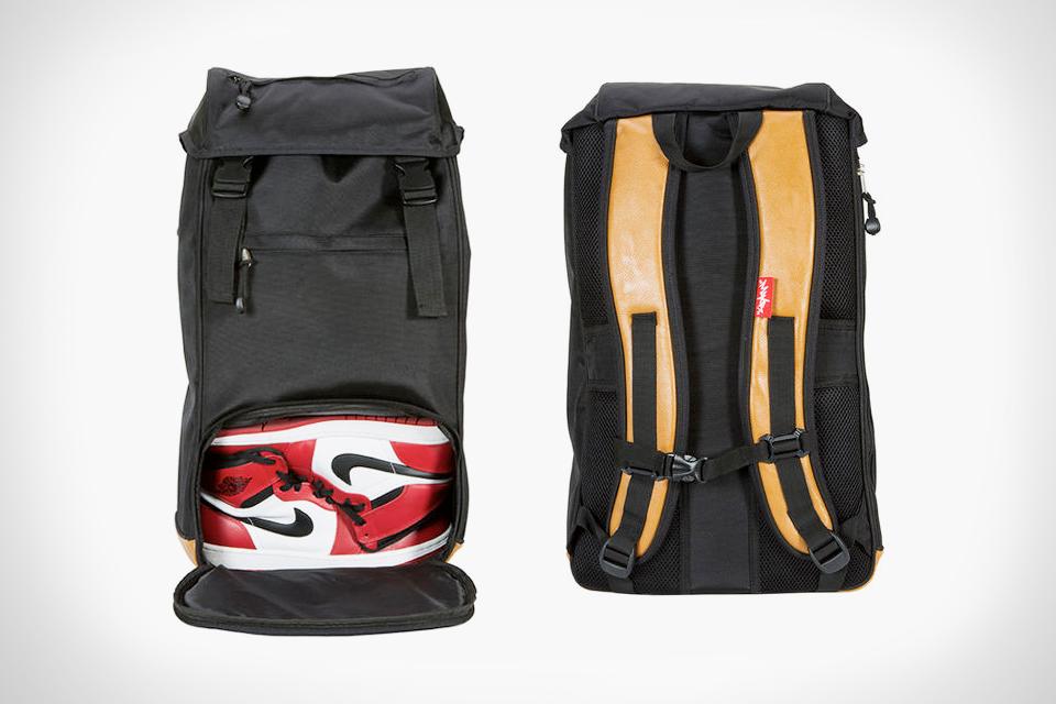 15b5de1eb00200 Flud Mayor Sneaker Tech Backpack