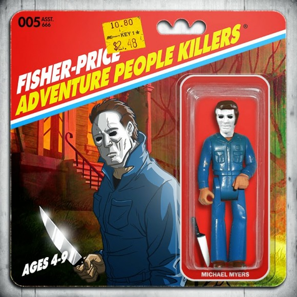 006-MICHAEL MYERS-FISHER-PRICE_ADVENTURE_PEOPLE