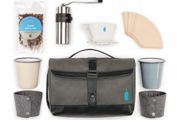 blue coffee kit