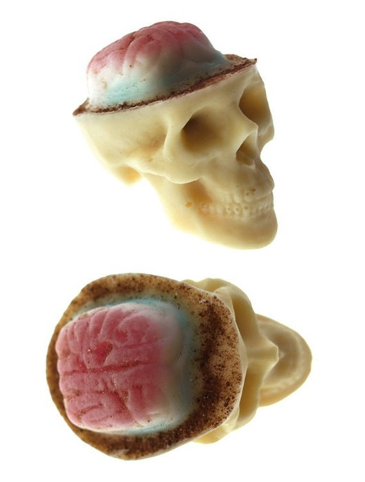 Chocolate Skulls Gone Nuts The Coolector