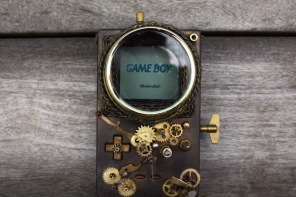 Steampunk Gameboy
