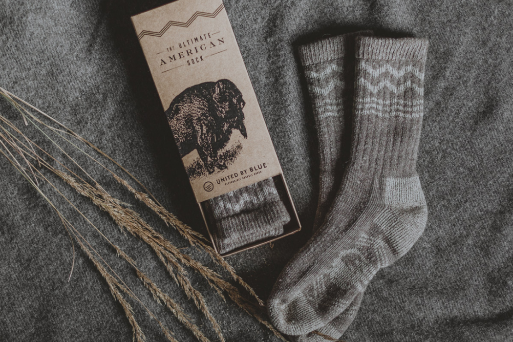 a8f9c7c0c932f United By Blue Bison Down Socks | The Coolector