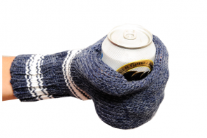 Suzy Kuzy Knitted Beer Mitts