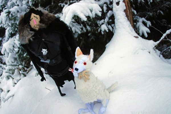 jon snow plush