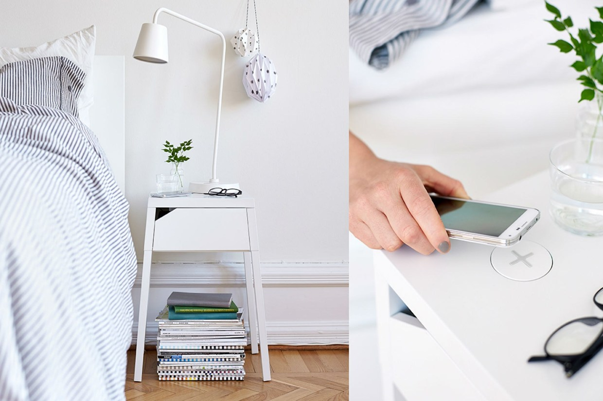 Ikea Wireless Charging Furniture The Coolector