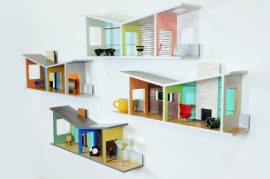Floating House Shelves