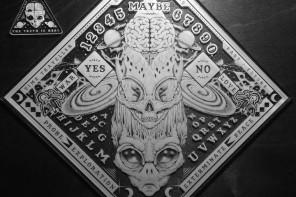 Paul Jackson Intergalactic Ouija Board