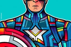 Avengers Stain Glass Art
