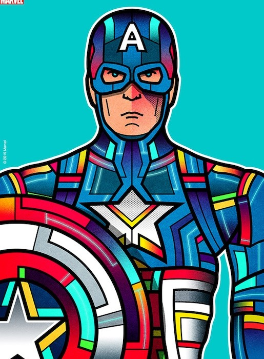 Avengers Stain Glass Art The Coolector