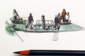 Jeremy Ennis Star Wars Drawings