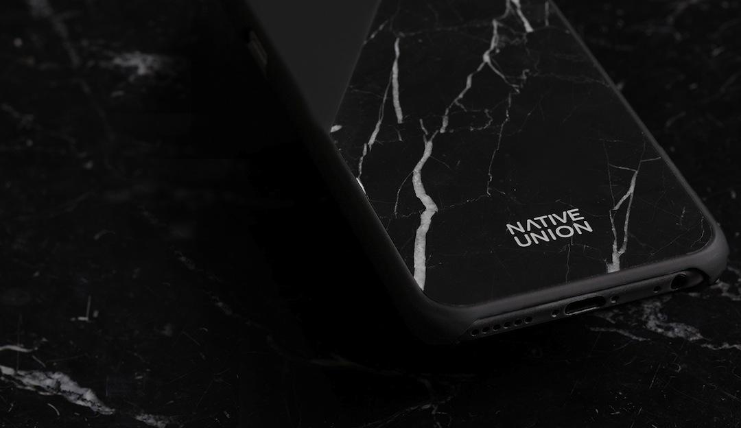 Native Union CLIC Marble Phone Case