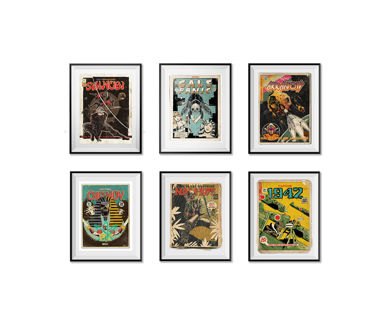 Nache Ramos Horrorcade Prints The Coolector
