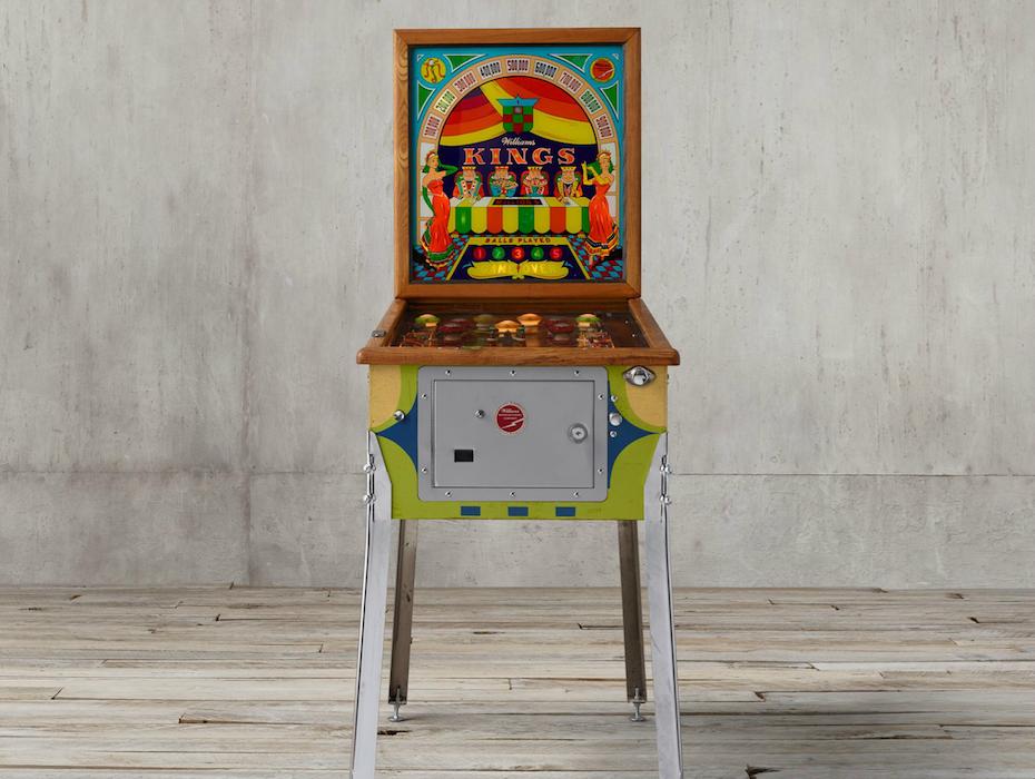 pinball machine restoration