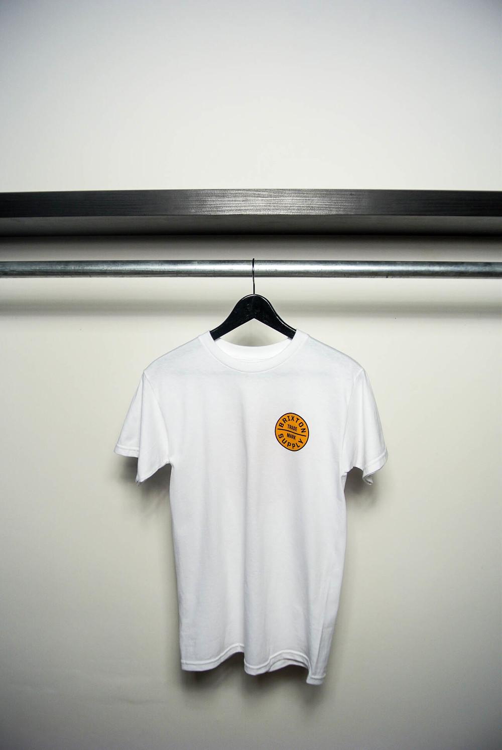 BRIXTON+Oath+Standard+Tee+White-Burnt+Orange_Holy+Rail_F