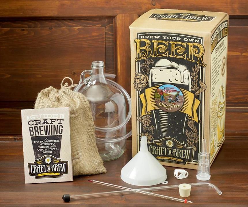 craft a brew beer brewing kit the coolector. Black Bedroom Furniture Sets. Home Design Ideas