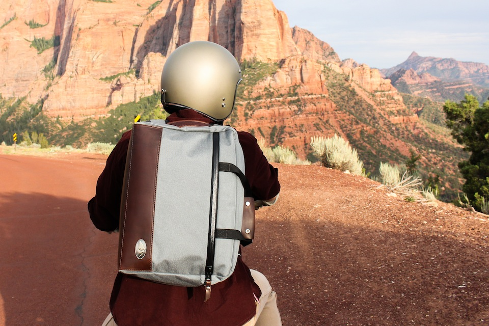 Rugged Material Horween Leather Mission Rucksack | The Coolector