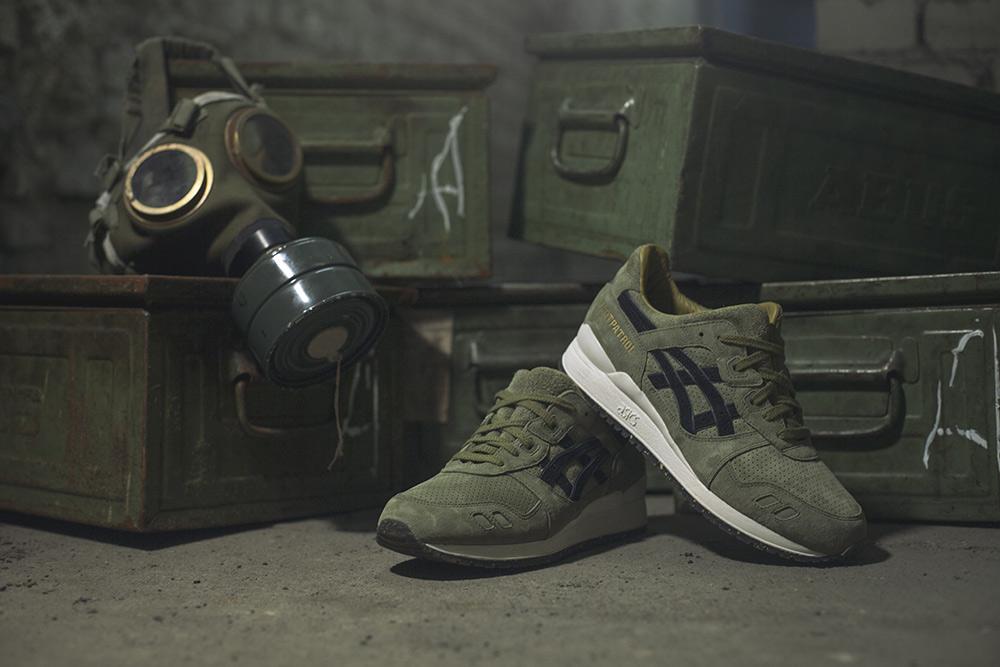 Footpatrol x ASICS Tiger Gel-Lyte III Squad Sneakers  eb2bf075187c